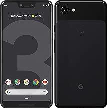 Google Pixel 3 XL G013C Unlocked 64GB 4G LTE Smartphone - Just Black (Renewed)
