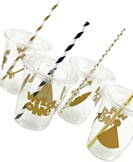 Wild One Cups - 12ct Birthday Party Supplies Favors for Kids Tribal Baby Shower