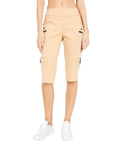 Jamie Sadock Skinnylicious 24.5 Knee Capris with Control Top Panel (Palomino) Women