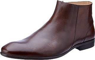 Brando Men's Gareth Zip Ankle Boots