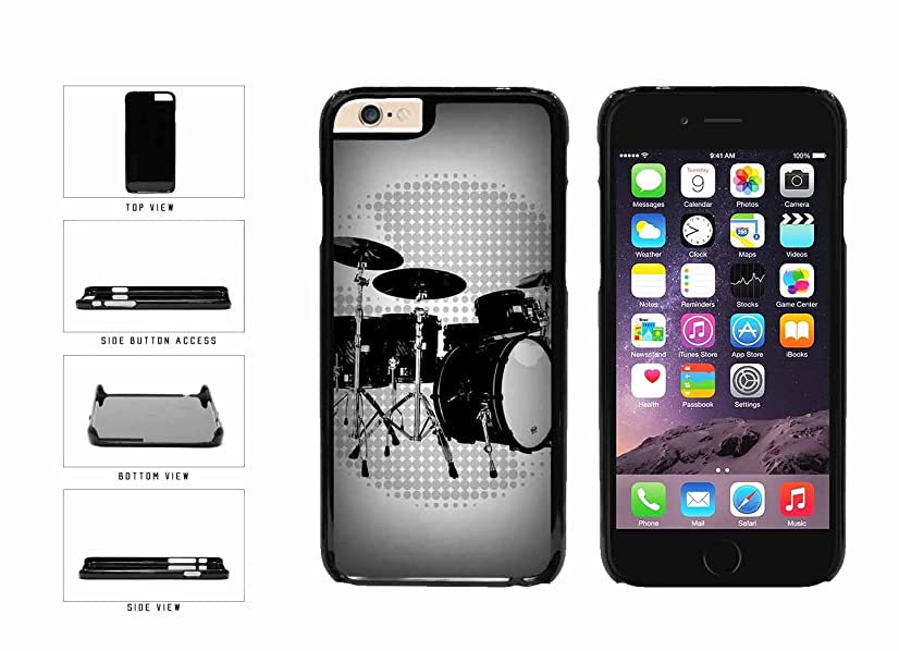 Band Drums Set Plastic Phone Case Back Cover Apple iPhone 6 6s (4.7 inches screen) includes BleuReign(TM) Cloth and Warranty Label