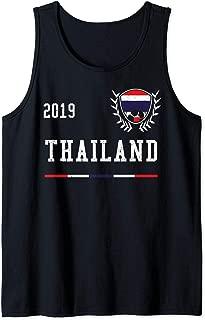 Thailand Football Jersey 2019 Thai Soccer Jersey Tank Top
