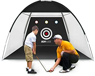 Roanude Golf Practice Nets for Backyard Driving, Golf Target Hitting Net with Carry Bag for Indoor or Outdoor Use