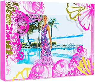 Lilly Pulitzer Coco Coral Crab 5X7 Photo Frame