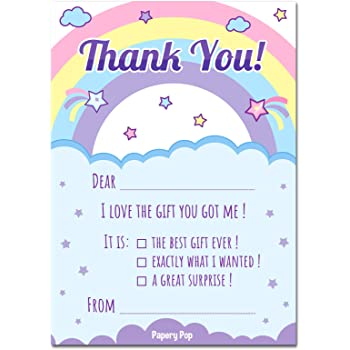 PACK OF 20 YELLOW /& PURPLE THANK YOU NOTE SHEETS WITH MATCHING ENVELOPES