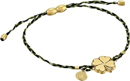 Alex and Ani - Precious Threads Four Leaf Clover Thicket Braid Bracelet