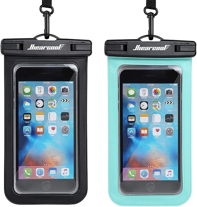 A waterproof phone bag