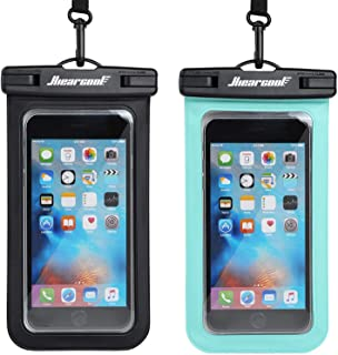 Hiearcool Universal Waterproof Case,Waterproof Phone Pouch for iPhone 11 Pro Max XS Max..