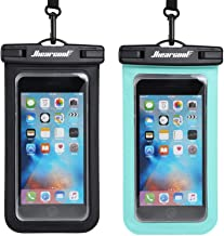 Hiearcool Universal Waterproof Case,Waterproof Phone Pouch for iPhone 11 Pro Max XS Max XR X 8 7 6S Plus Samsung Galaxy s10/s9 Google Pixel 2 HTC Up to 7.0