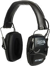 Abafador de ouvido eletrônico Howard Leight Impact Sport Bolt, R-02525, Preto, Preto