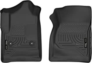 Husky Liners Fits 2014-18 Chevrolet Silverado/GMC Sierra 1500 Standard Cab, 2015-19 Chevrolet Silverado/GMC Sierra 2500/3500 Standard Cab X-act Contour Front Floor Mats