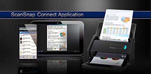 『ScanSnap Connect Application (日本語版)』のトップ画像