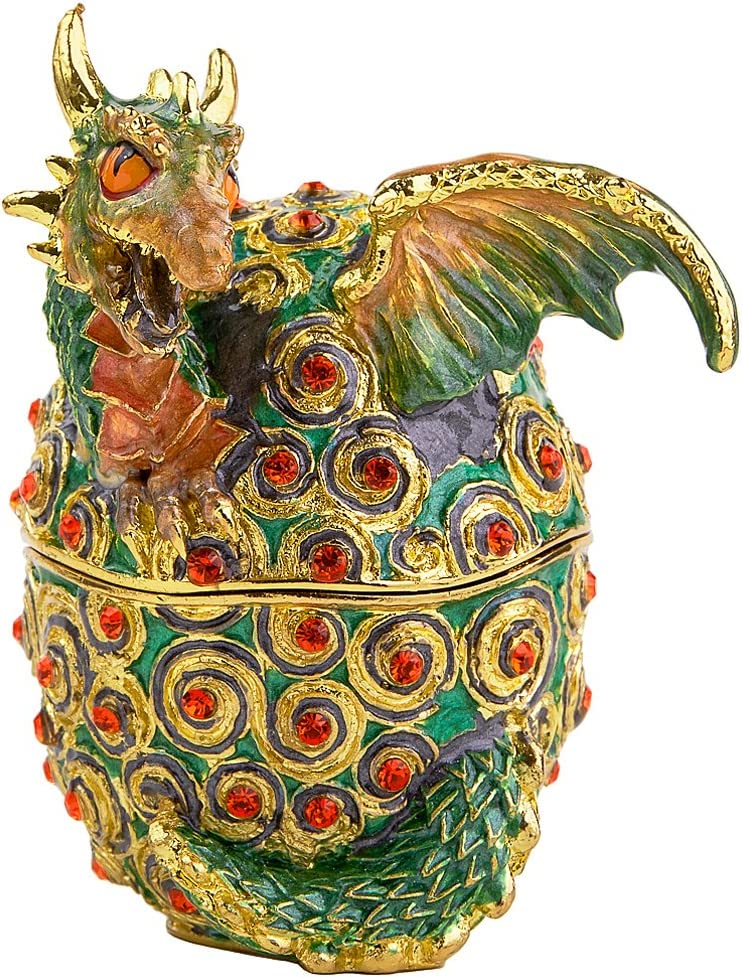 RUCINNI Dragon shipfree from an Be super welcome Jewel Box Egg