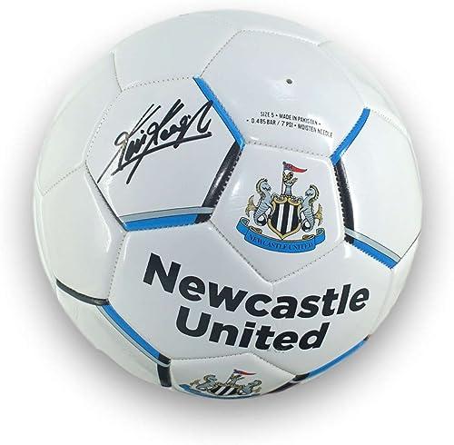 Exclusive Memorabilia nouveaucastle United Football signé par Kevin Keegan