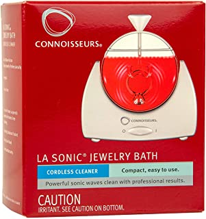 Connoisseurs Sonic Bath Jewelry Cleaner Appliance