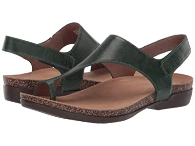 Dansko Reece (Green Waxy Burnished) Women