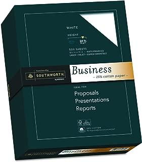 Southworth 25% Cotton Business Paper, 8.5