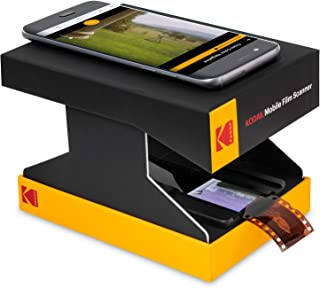 KODAK Mobile Film Scanner - Fun Novelty Scanner Lets You Scan and Play with Old 35mm Films & Slides Using Your Smartphone ...