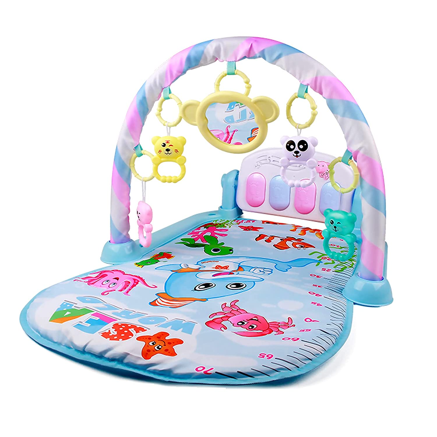 Houli latest Baby Play Max 45% OFF Gym Mat Pedal Toys Piano Sta