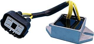Tuzliufi Replace Voltage Regulator Skidoo Snowmobile Mach 1 Z 700 800 Formula III Summit MX Z 500 ZX 440 600 1999-2001 2002 2003 Highmark Trail Adrenaline Racing Renegade R Carb Sport 515173200 Z24
