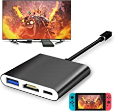 Fyoung Type-C HDMI Adapter Hub Dock Cable for Nintendo Switch, HDMI Converter Dock Cable for Nintendo Switch