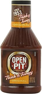 Open Pit Thick and Tangy Original BBQ Sauce (3 Pack)