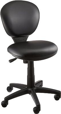 ナカバヤシ 抗菌レザーオフィスチェア デスクチェア 椅子 ブラック RZC-273BK