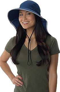 Sun Protection Zone Unisex Lightweight Adjustable Outdoor Floppy Sun Hat (100 SPF, UPF 50+)