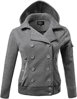 Plus4u Women's Beautiful Fit Classic Double Breasted Trench Coat Plus Size