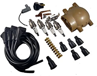 8USAUTO Tune Up Kit Air Oil Fuel Filters Cap Wire Spark Plugs FIT Chevrolet Astro V6 4.3L 1996-1999