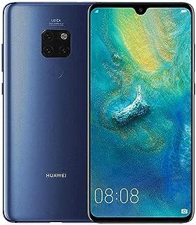 Huawei Mate 20 HMA-L29 128GB+4GB - Factory Unlocked International Version - GSM ONLY, NO CDMA - No Warranty in The USA (Midnight Blue)