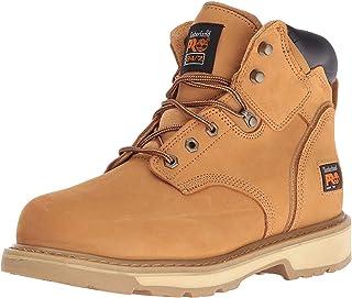Timberland PRO - - Chaussure de sécurité Pit Boss en Acier pour Homme, 6 po, 44.5 2E EU, Wheat