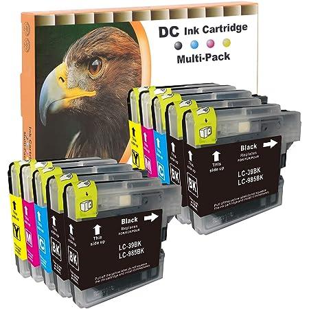 D C 10x Druckerpatronen Xl Kompatibel Für Brother Lc985 Lc 985 Lc 39 Lc 975 Für Brother