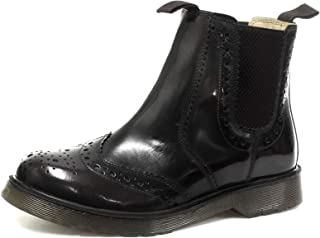 Grafters Leather Brogue Gusset Dealer Mens Boots