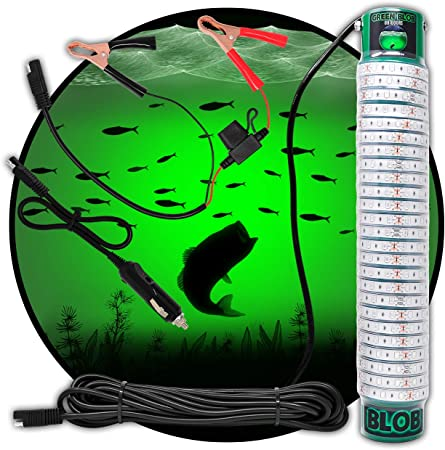 Green Blob Outdoors New Underwater LED Fishing Light