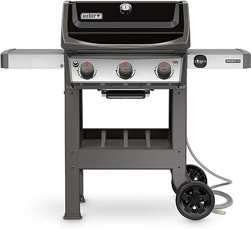 Weber-49010001-Spirit-II-E-310-3-Burner-Natural-Gas-Grill,-Black