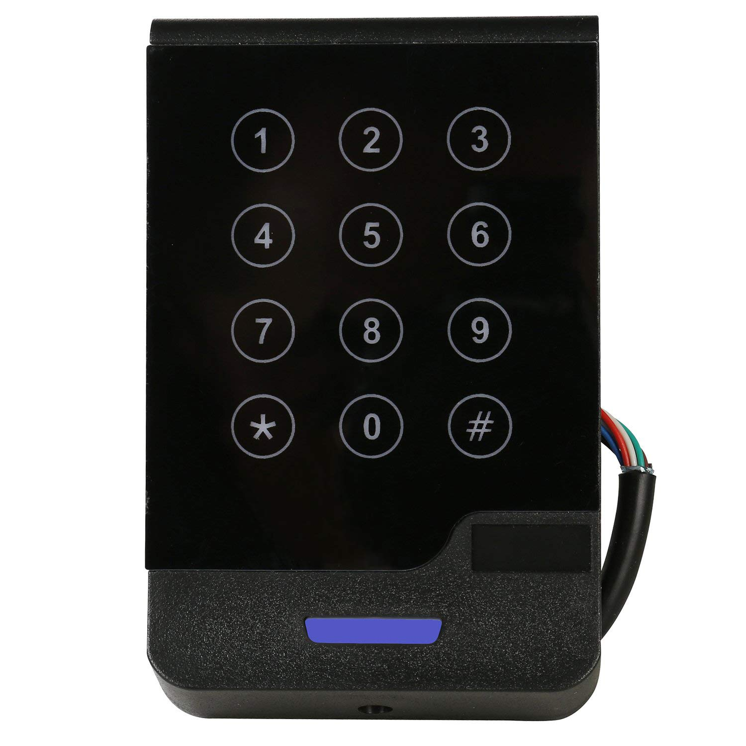 HWMATE Portable Contactless RFID ISO14443A 13.56Mhz IC Card USB Reader Support M1 S50 S70 Ouput 8 Digit Decimal