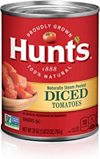hunts crushed tomatoes nutrition
