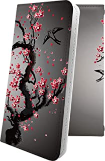 GALAXY S5 SCL23 ケース 手帳型 花柄 花 フラワー サクラ 桜 小桜 夜桜 ギャラクシー アクティブ 和柄 和風 日本 japan 和 GALAXYS5 おしゃれ 10536-wejggb-10001278-GALAXYS5
