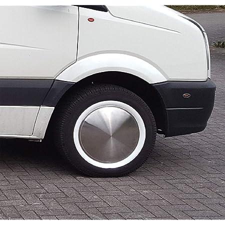 Universell Passendes Set Moon Caps Weißwandringe 15 Zoll Für Pkw Oldtimer Youngtimer Auto