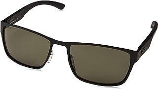 نظارات شمسية رجالي Smith Contra M9 003 57 (لون أسود غير لامع)