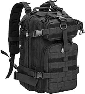 WolfWarriorX Small Tactical Backpack Military Assault Pack Rucksack Molle Bag