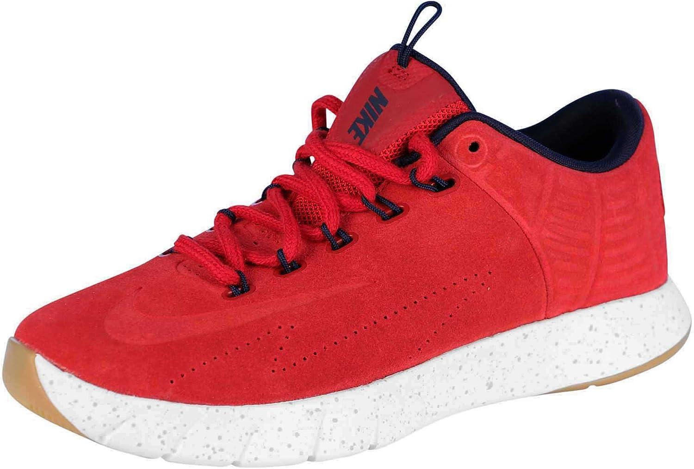 Nike Mens Lunar Hyperrev Low EXT Basketball shoes-Gym Red Obsidian