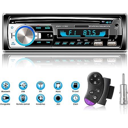 Lifelf Autoradio Mit Bluetooth Freisprecheinrichtung Elektronik