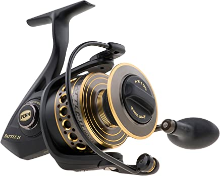 Penn 1338215 Battle II 1000 Spinning Fishing Reel
