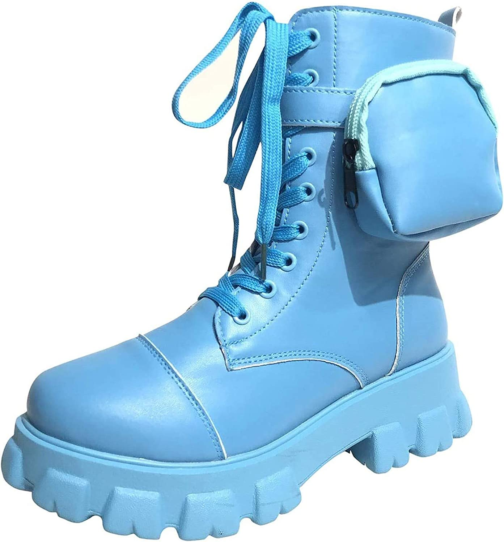 Platform 2020春夏新作 Boots for Women Chunky 発売モデル Heel Ladies Wom Goth Shoes Punk