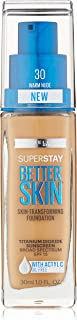 Maybelline New York Superstay Better Skin Foundation, Warm Nude, 1 Fluid Ounce