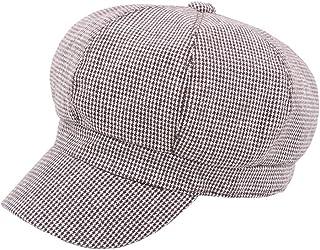 9d0961e8 MEIZOKEN Women Newsboy Baker Boy Cap Black Ladies Military Hat Wool British  Style Painter Spring Autumn ...