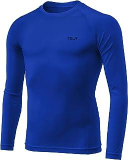 (テスラ)TESLA キッズ コンプレッションウェア 冷感 スポーツウェア [UVカット・吸汗速乾] ジュニア ランニングウェア 長袖シャツ/パンツ/ショーツ/カプリ