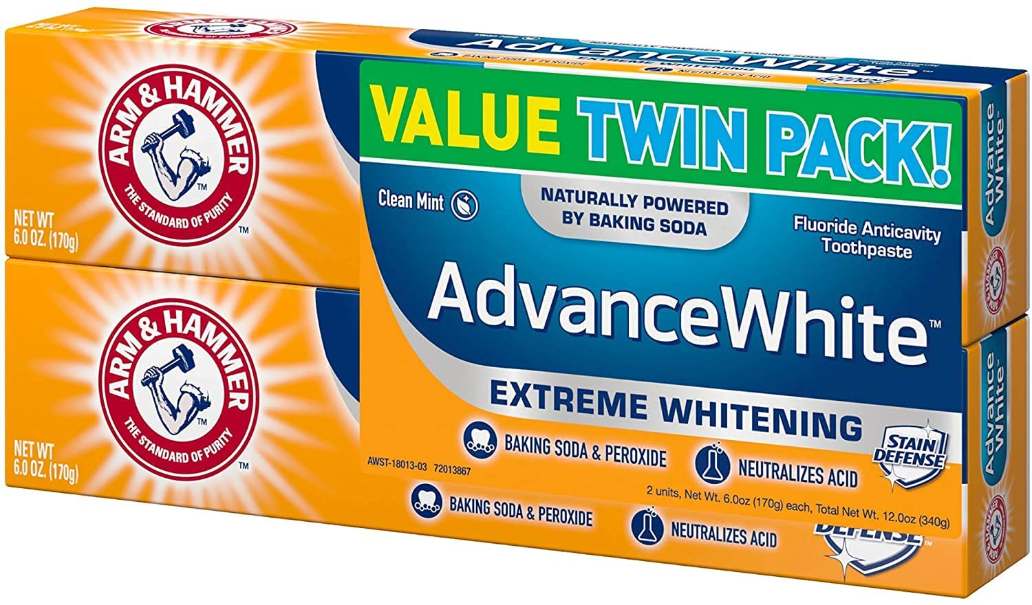 ARM HAMMER Advance White Extreme 100% quality warranty Whitening and Baking Soda Per Ranking TOP16